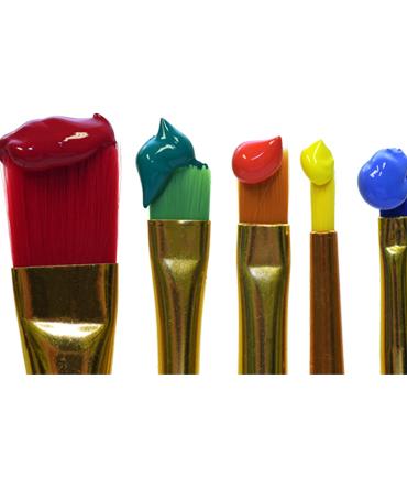 Farben Pinsel